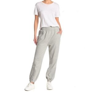 New Free People Slouch It Jogger Heather Grey
